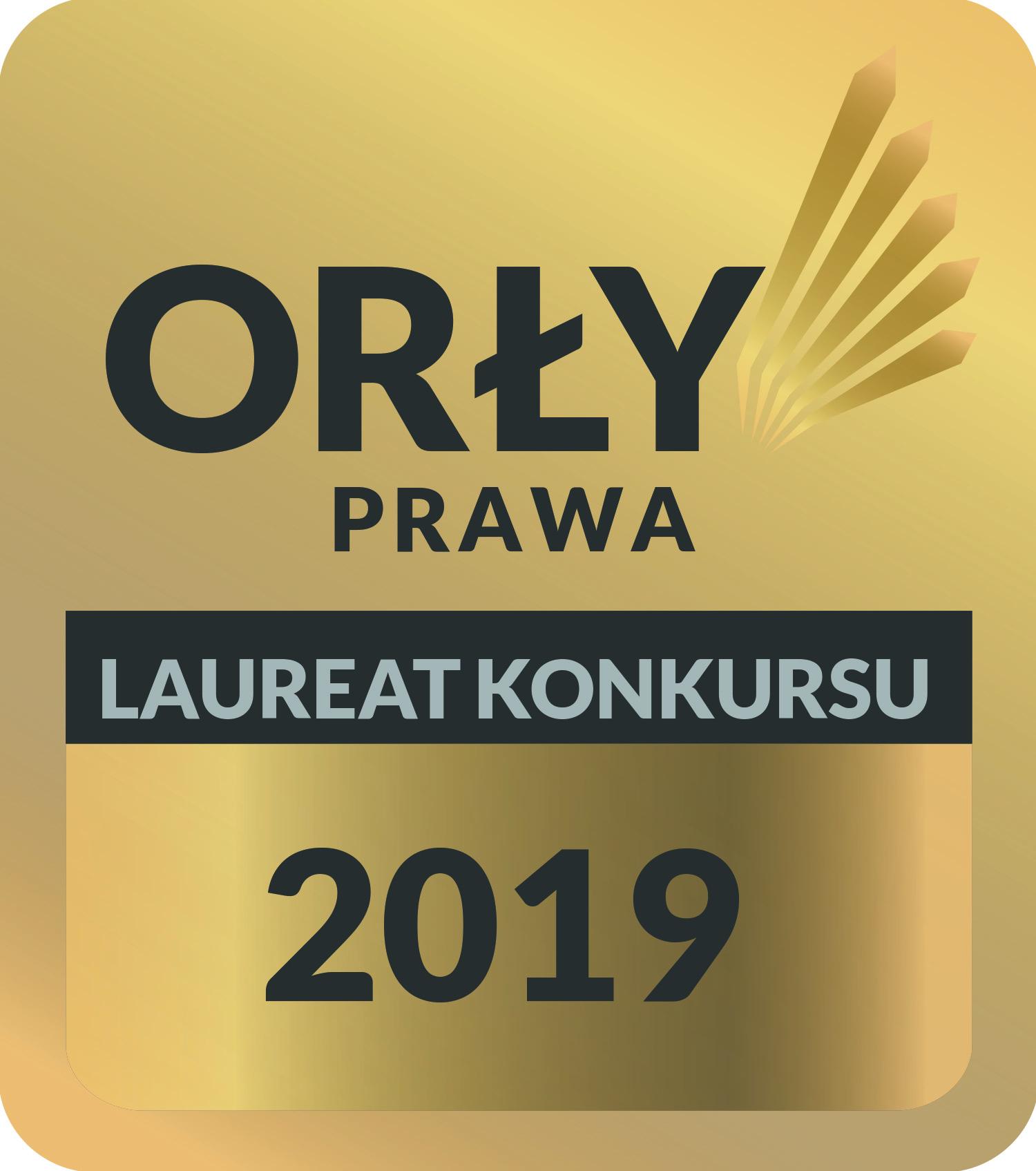 Orły Prawa - laureat konkursu 2019 Kancelaria Ultimatum